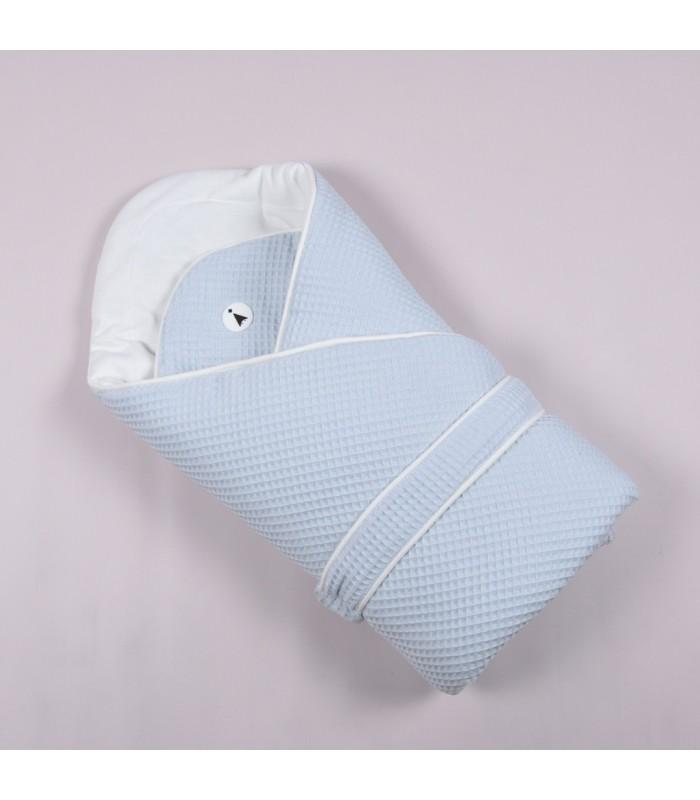 Конверт одеяло деми голубой