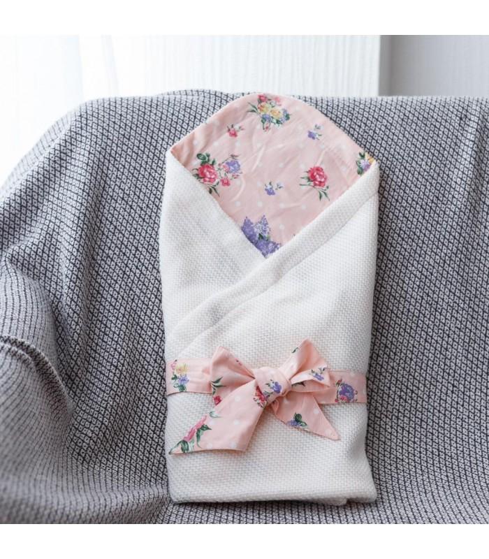 Летний конверт плед цветы