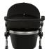 Двойной солнцезащитный козырек на коляску черный (две секции)