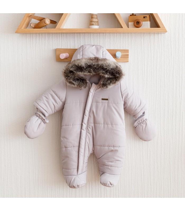 Зимний комбинезон аляска серый